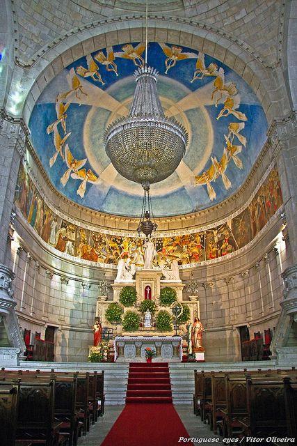 Basílica de Santa Luzia - Viana do Castelo - Portugal by Portuguese_eyes, via Flickr #Churches & #cathedrals