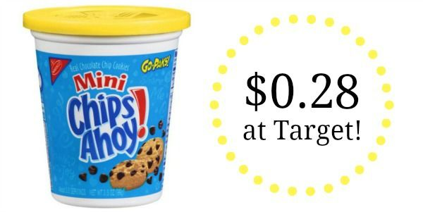 Target: Nabisco Cookies Go-Paks Only $0.28!