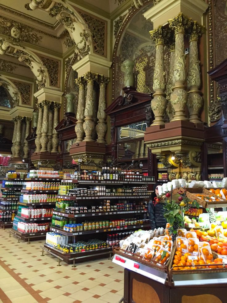 And this is a grocery store? - Moscow, Moscow. Елисеевский гастроном.