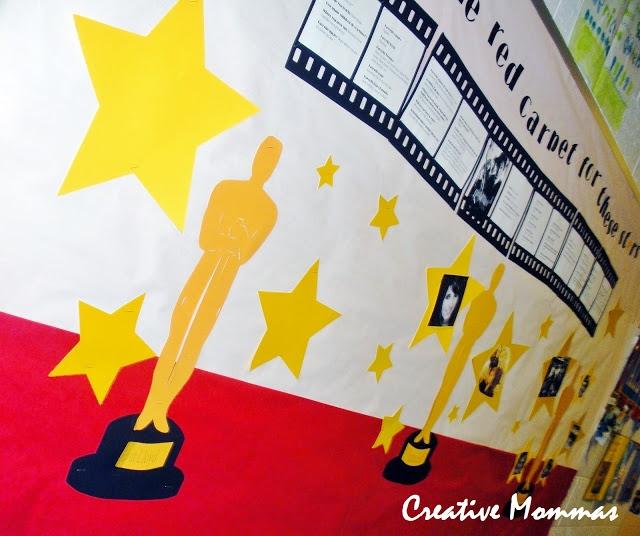 Creative Mommas: March PTO Teacher Spotlight Bulletin Board