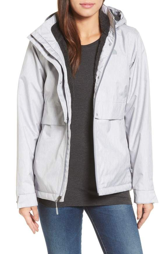 51cb07b3c952 The North Face Morialta Jacket in white Grey or Black