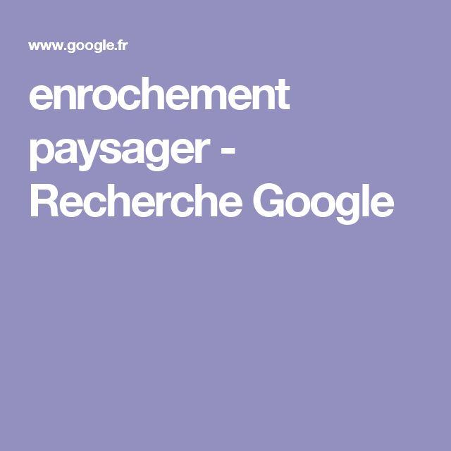 enrochement paysager - Recherche Google