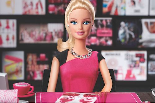 Introducing Girl Boss Barbie and Her Retail CEO Entourage