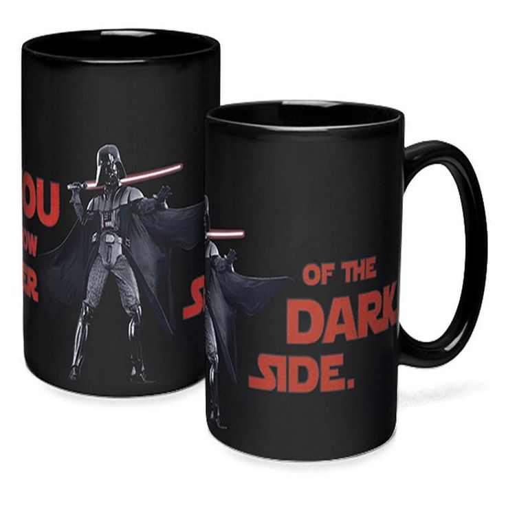 Star Wars Lightsaber Heat Reveal Mug color change coffee cup Darth Vader/Yoda/Battle ship sensitive morphing mugs boyfriend gift