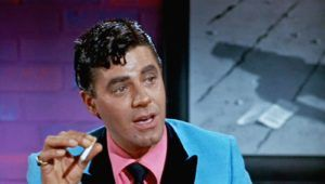 Jerry Lewis as the suave alter ego Buddy Love in The Nutty Professor    https://famousclowns.org/famous-clowns/the-nutty-professor/