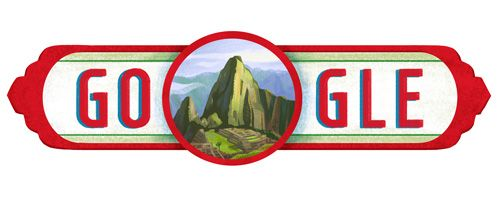 Peru National Day 2016  Date: July 28 2016  Happy Fiestas Patrias Perú!  Perú celebrates their independence in a multi-day series but the entire month of July is fair game for flying the flag of Perú. Celebrations usually begin during the final week with official ceremonies start on the 28th when Congress invites the President to give an address to the nation. The week is spent celebrating Perú's progress and the vibrancy of the country's traditions and culture. Today's Doodle features the…