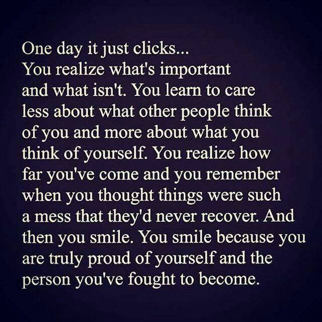 One day it just clicks