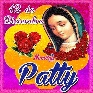 NombresEloisa.Blogspot.mx: Virgen de Guadalupe Gif Con Nombres (O,P,R,S,T,V,Y)