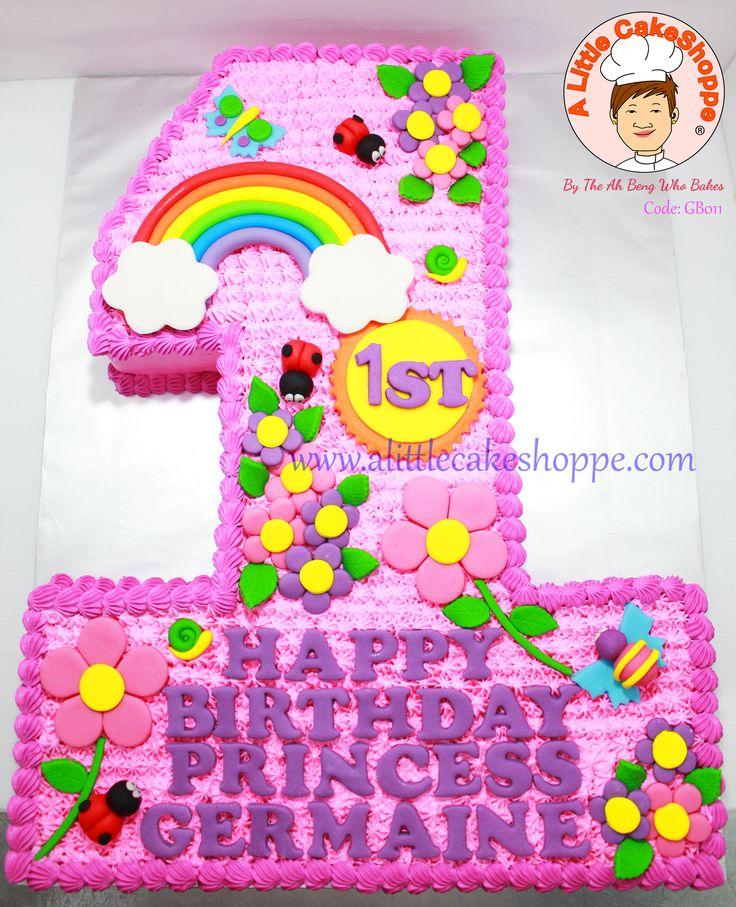 Code: GB011   For enquiries, please email to info@alittlecakeshoppe.com  www.alittlecakeshoppe.com Instagram - instagram.com/alittlecakeshoppe Pinterest - pinterest.com/ALCSingapore    #Garden #CustomCakes #ALittleCakeShoppe #Singapore #Customised #Birthday #Cakes