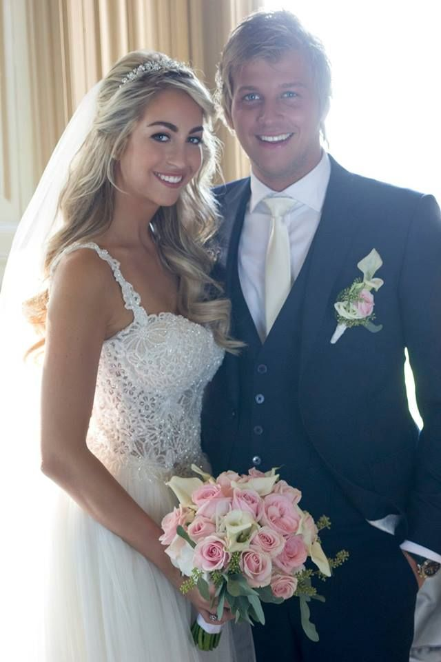 Real wedding. Newlyweds