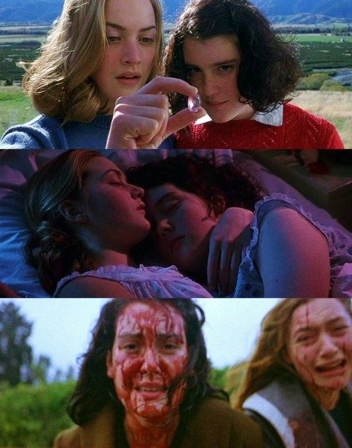 Heavenly Creatures Dir: Peter Jackson, starring Kate Winslet and Melanie Lynskey.  A compelling and disquieting film based on the true story of two girls who committed matricide in 50's New Zealand. It explores their secretive, complex relationship and the bizarre landscape of their shared imaginations which increasingly distance them from reality.