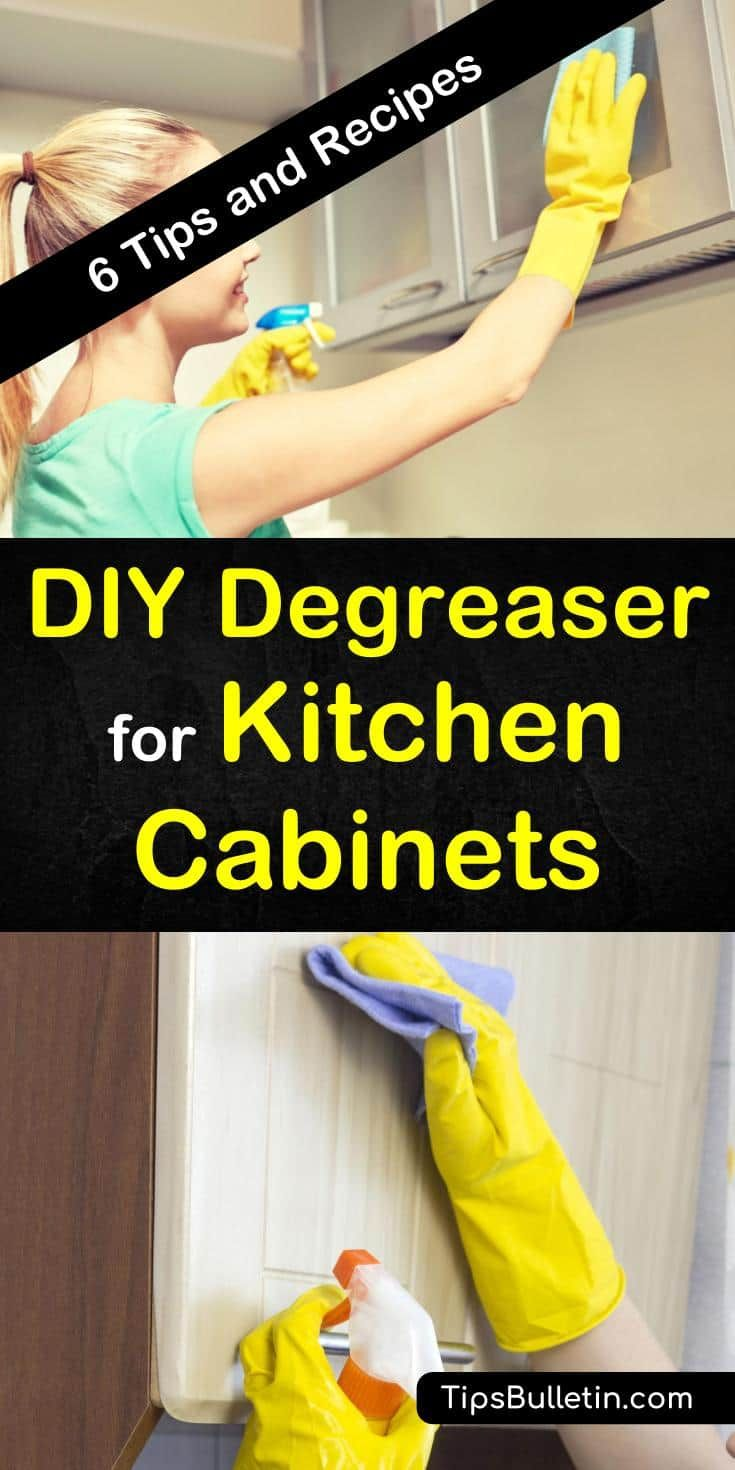 6 Diy Degreaser Recipes For Kitchen Cabinets In 2020 Degreasers Best Cleaning Products Homemade Kitchen Cleaner