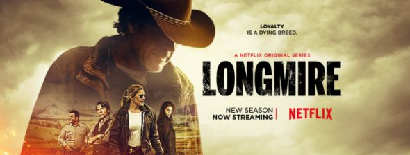 'Longmire' (Netflix-November 17, 2017) Season 6-a re-introduced webseries by Netflix. A crime drama, neo western, and well known popular TV series after the cancellation of series by A&E Network. Stars: Robert Taylor, Katee Sackhoff, Lou Diamond Phillips, Adam Bartley, Cassidy Freeman, Bailey Chase.