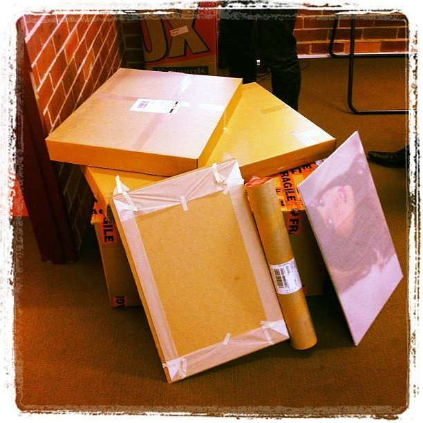 "@derekclapham's photo: ""Massive delivery from @nulab. Presents!!!"""