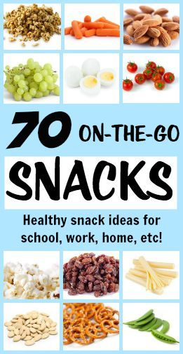 70 on the go healthy snacks tone tighten pinterest