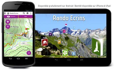 Rando Ecrins mobile