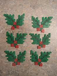 Fuse bead mistletoe
