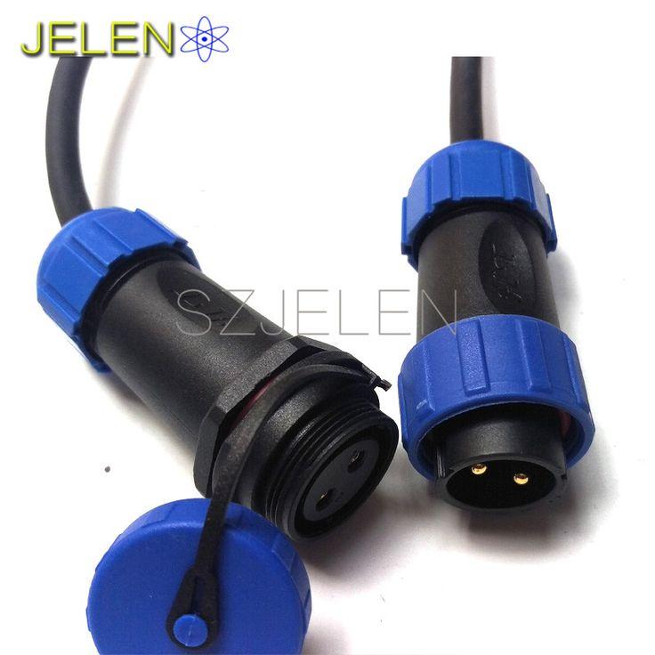 SP2110/P2-SY2111/S2, водонепроницаемый Авиации Разъем 2 контактный разъем, IP68, СИД Силовой кабель разъем, промышленных разъем