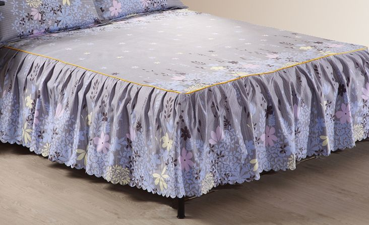 Cheap bed skirt, Buy Quality bed sheet skirt directly from China lace bed skirt bedspread Suppliers: 1 Piece Bed skirt bed sheets King Queen Twin size Grey bed sheet bedding Lace mattress cover Bedspread