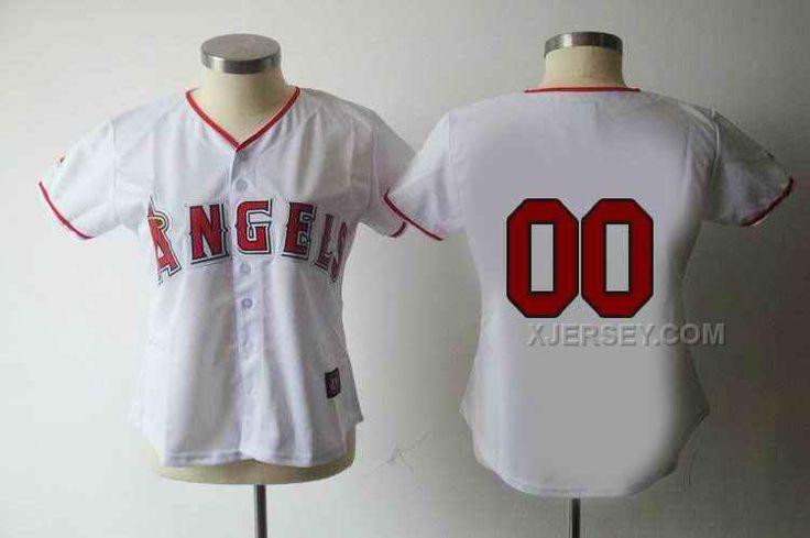 http://www.xjersey.com/anaheim-angeles-blank-white-women-custom-jerseys.html ANAHEIM ANGELES BLANK WHITE WOMEN CUSTOM JERSEYS Only $75.00 , Free Shipping!