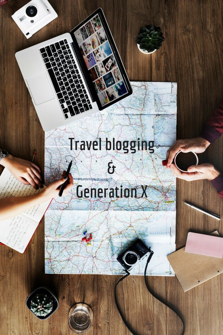 travel blogging and generation x