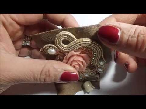 TUTORIAL SOUTACHE: rifiniture - YouTube