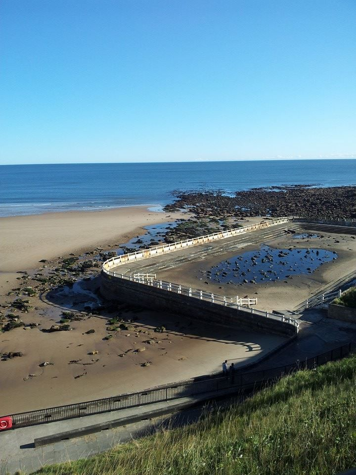 Tynemouth Pool Longsands The Beach North East England North Shields Fc Great North