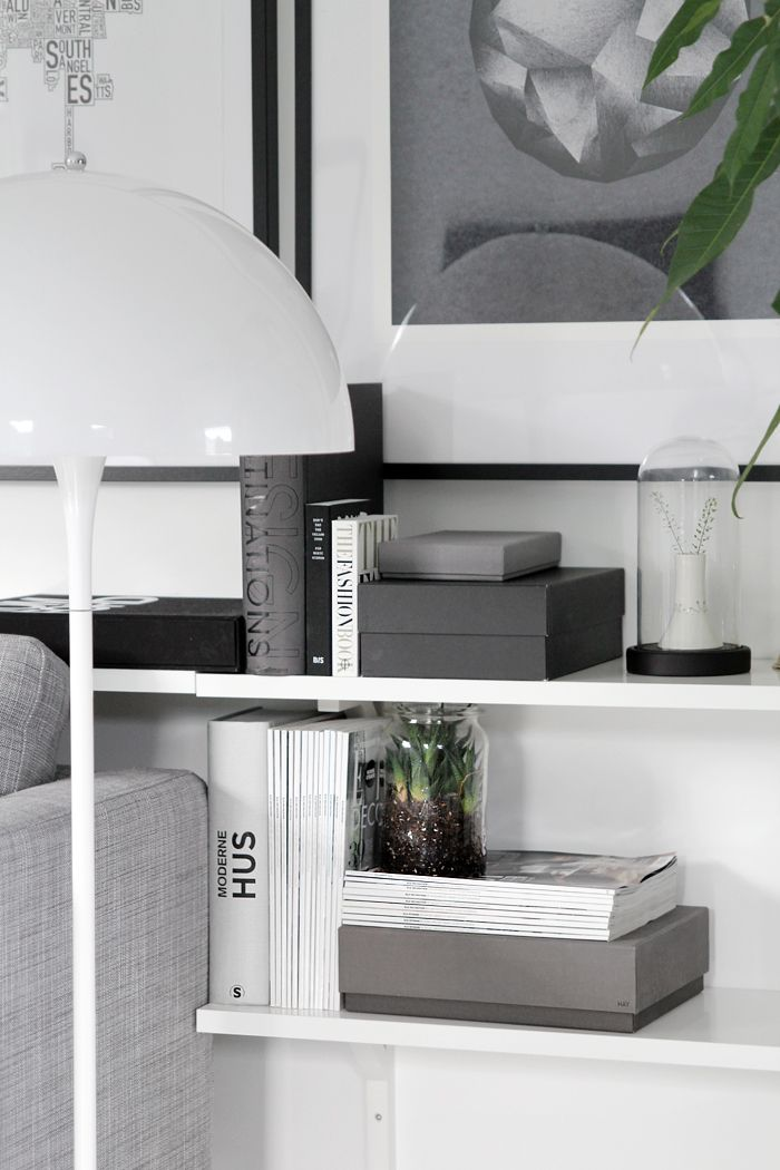 Via Stylizimo | Grey and White | Panthella Lamp
