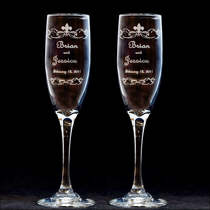115 Best Images About Wedding Accessories: Toasting Flutes