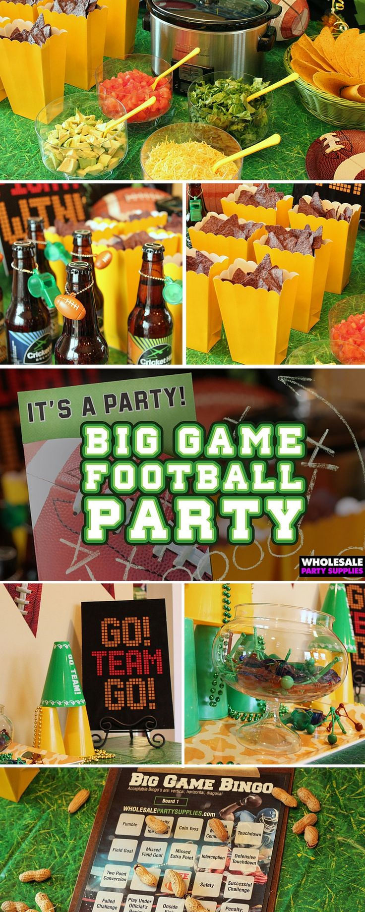 Get ready for the big game with these football party ideas just in time for the #SuperBowl