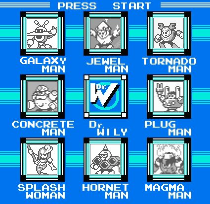 All eight Mega Man 9 boss sprites revealed | Joystiq