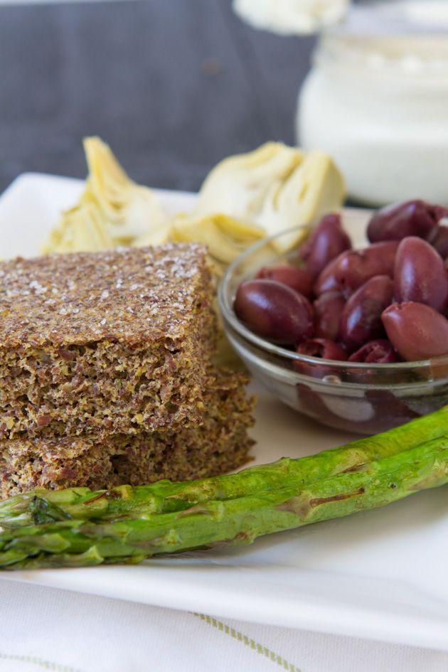 Flaxseed Focaccia Bread   Healthful Pursuit