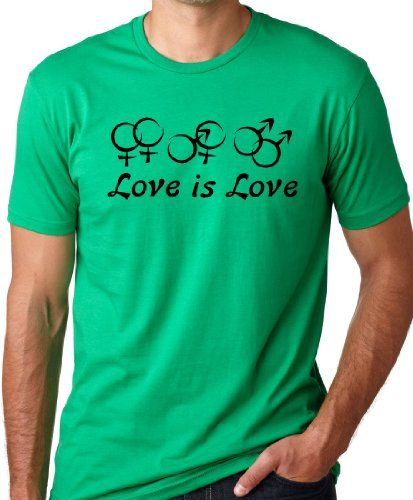 Love is Love Equal rights T-shirt Gay marriage Tee Green L Think Out Loud Apparel,http://www.amazon.com/dp/B00D9ERDSG/ref=cm_sw_r_pi_dp_FekOsb0EBNDKXGSD