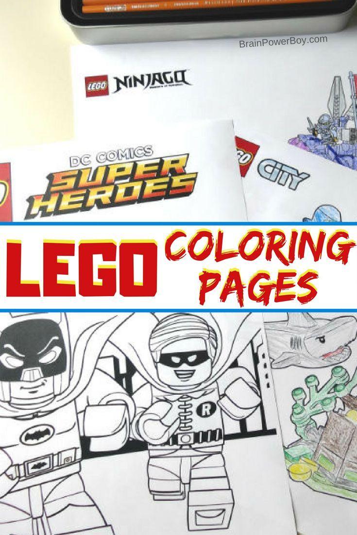 Over 180 LEGO Coloring Pages Batman Freeprintables Lego Coloringpages Coloringsheets