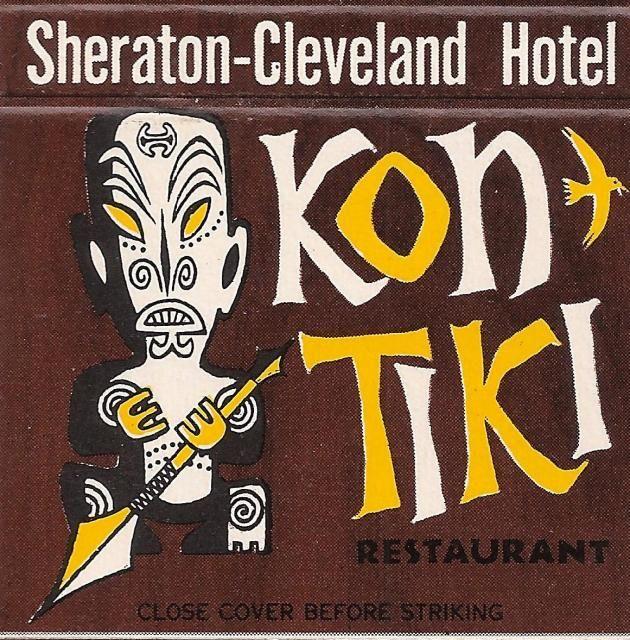 Kon Tiki Restaurant on Public Square in Cleveland (closed in 1976)