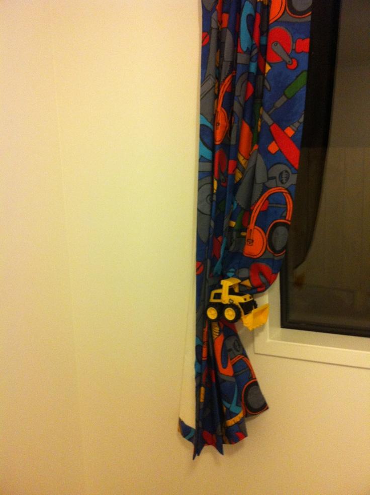 Felix bedroom curtain tie-back two