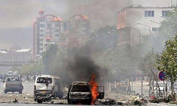 Awal Ramadhan Puluhan Orang Tewas di Afghanistan : Seorang pengebom bunuh diri menewaskan setidak-tidaknya 14 orang di Afghanistan pada Sabtu dan pertempuran pemberontak dengan pasukan keamanan menewaskan sedikit-dikitn