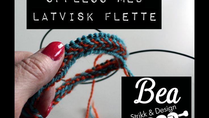 Opplegg med Latvisk Flette - Latvian Braid