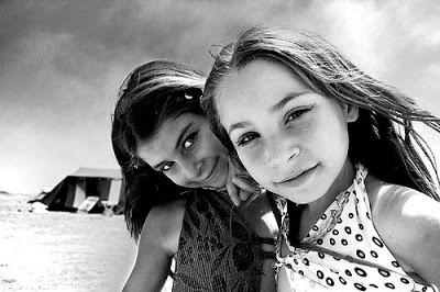 Gypsy family living in Antofagasta, Chile.