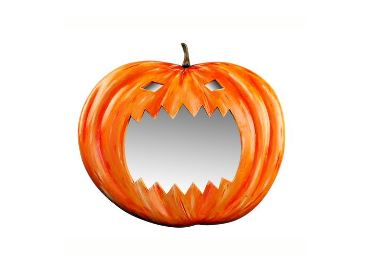 Pumpkin Mirror by Marvellous Mirrors.com