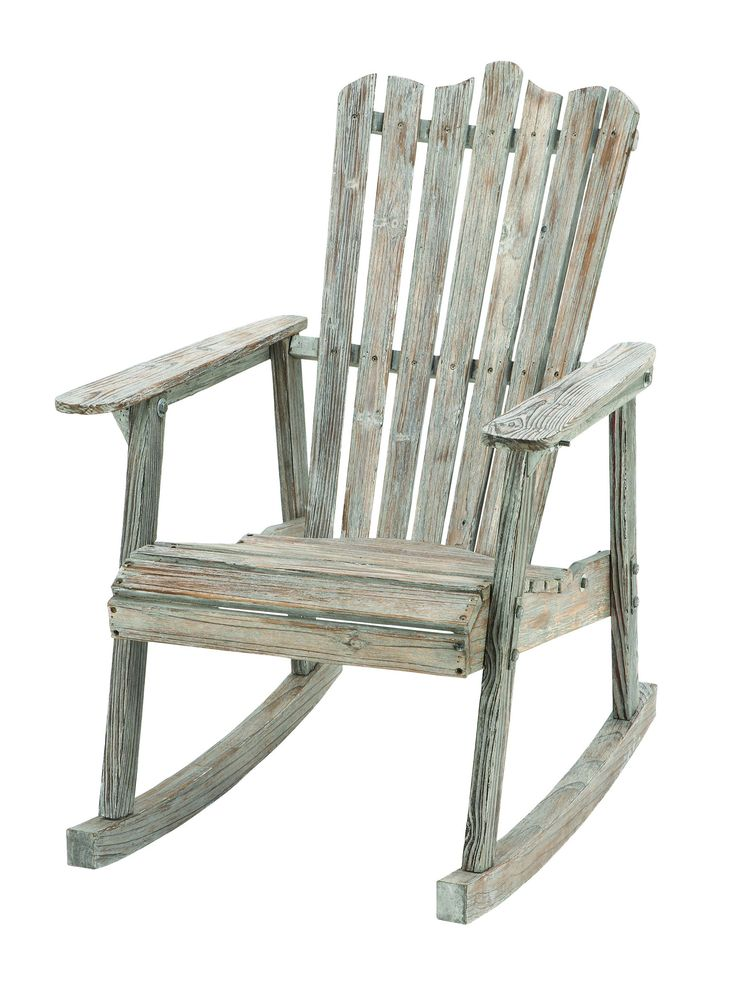 Old Look Old Fashioned Rocking Chair