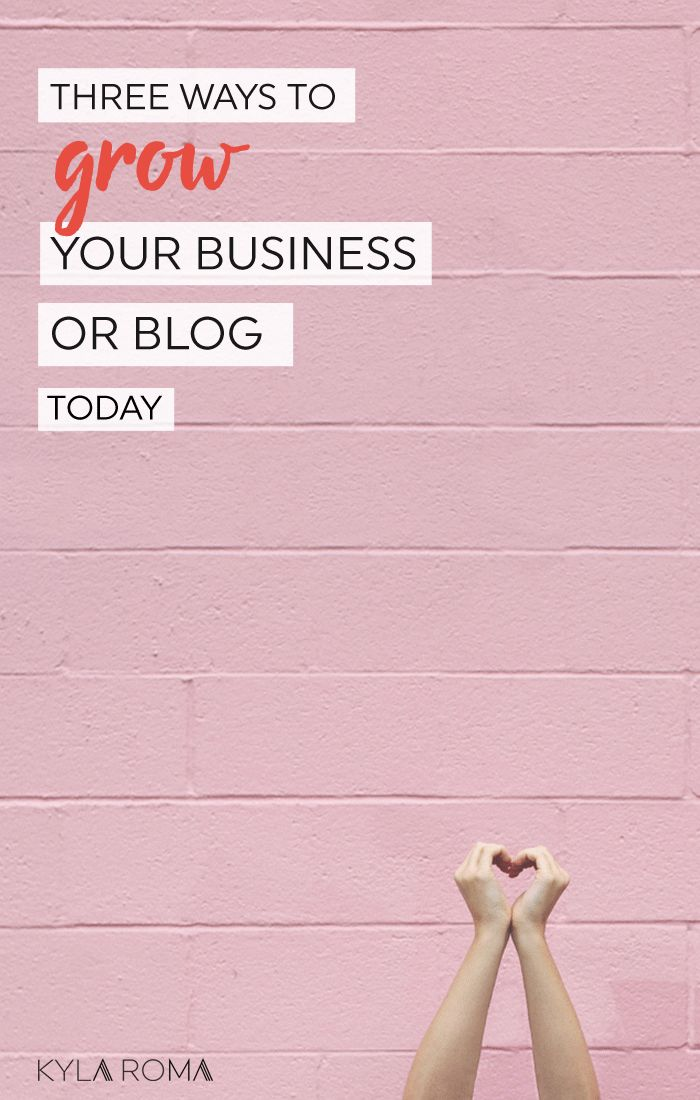 Get unstuck! Three ways to grow your small business or blog today! Get ready to grow your freelance business, etsy shop, coaching practice, side hustle or 9-to-5 escape plan.