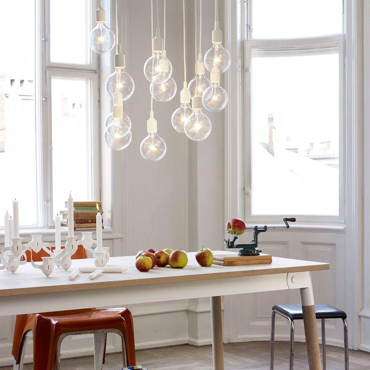 DESIGNDELICATESSEN - Muuto - E27 Pendel Lampe - pære