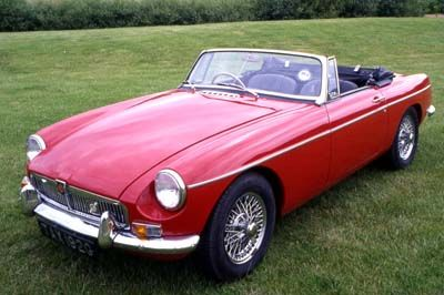 MGB I'd be driving one of these with the top down in the really hot weather :)