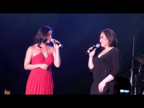 Sharon Cuneta and KC Concepcion duet - I'll be there