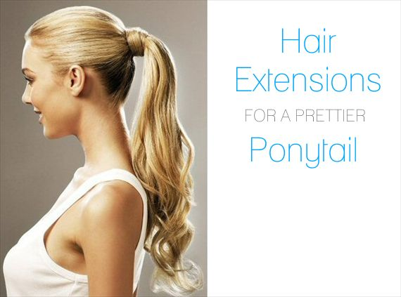 hair-extensions-ponytail - Wedding Hair Extensions: Do's and Don'ts