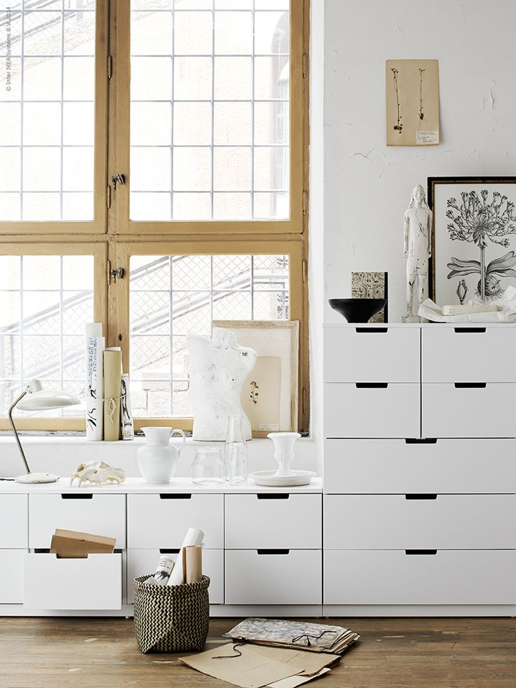 Living room storage solutions: NORDLI. Create the perfect combination of chests to suit your needs and your space.