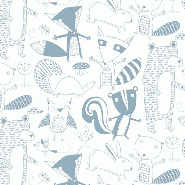 #Wallpaper | Loboloup  via JUST KIDS WALLPAPER™ - une multitude de jolis papiers peints sur ce site !!!!