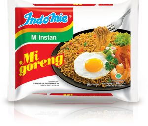 Indomie is an Indonesian brand of instant noodle. Indomie is the biggest manufacturer of instant noodle in Indonesia