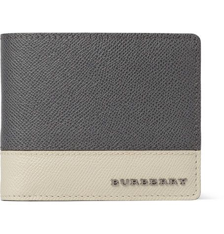 Burberry Shoes & Accessories Cross-Grain Leather Billfold Wallet | MR PORTER
